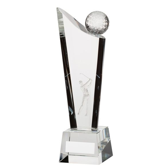 The Crystal Golf Award 220mm