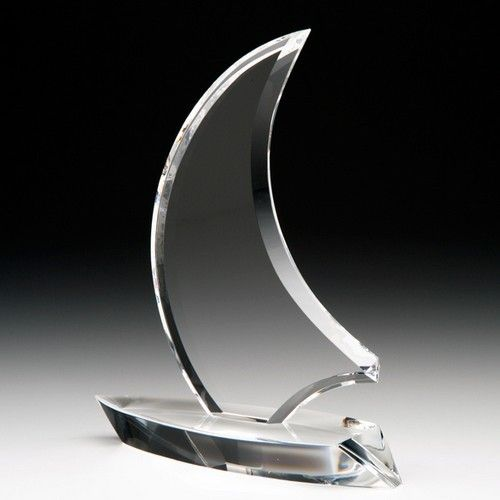 Crystal Corporate Admiral Award 230mm