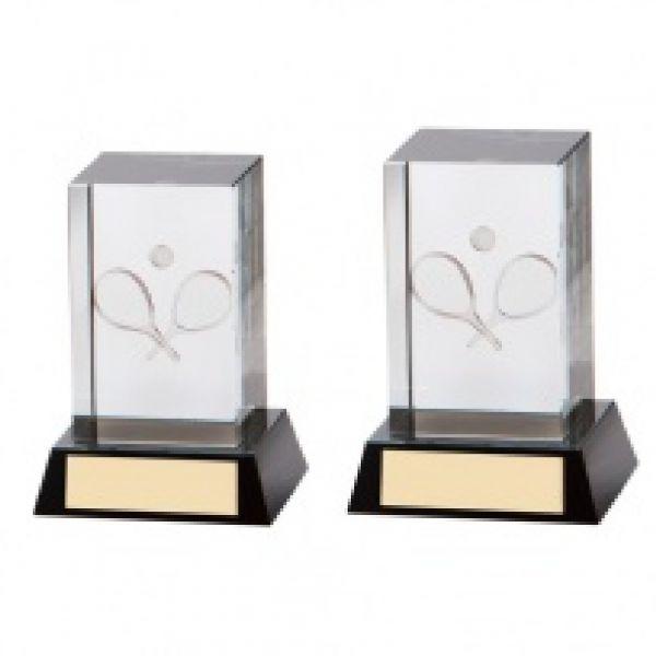 The Crystal Tennis Award 90mm