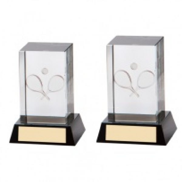 The Crystal Tennis Award 100mm