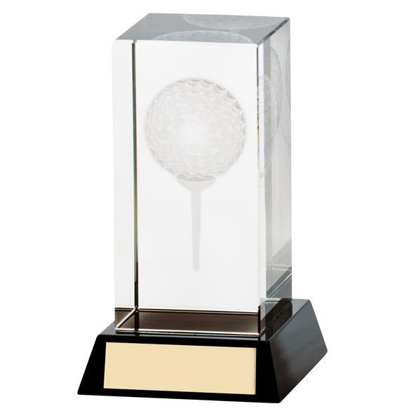 The Crystal Golf Award 100mm