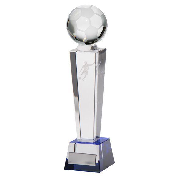 Legend Tower Crystal Football Award 245mm
