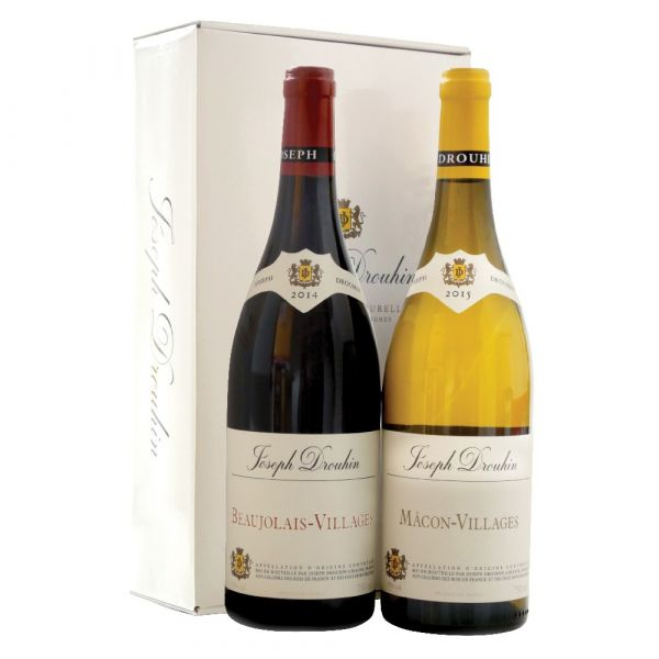 Wine Twin Gift Pack Beaujolais  / Macon 75cl