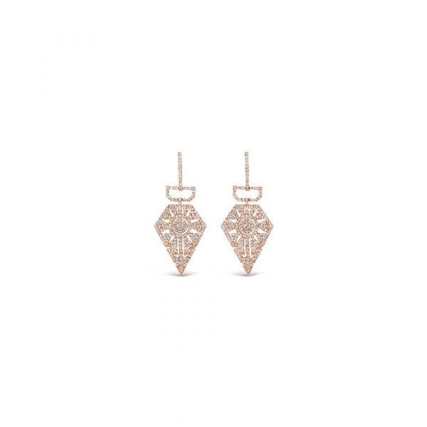 Absolute Jewellery Rose Gold Earrings