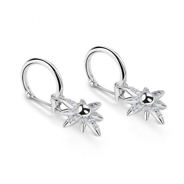 Newbridge Silver Star Earrings