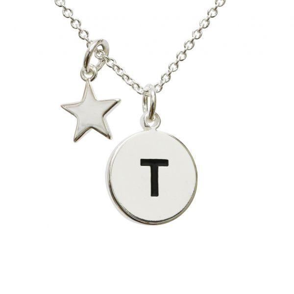 Kilkenny Silver Initial Necklace