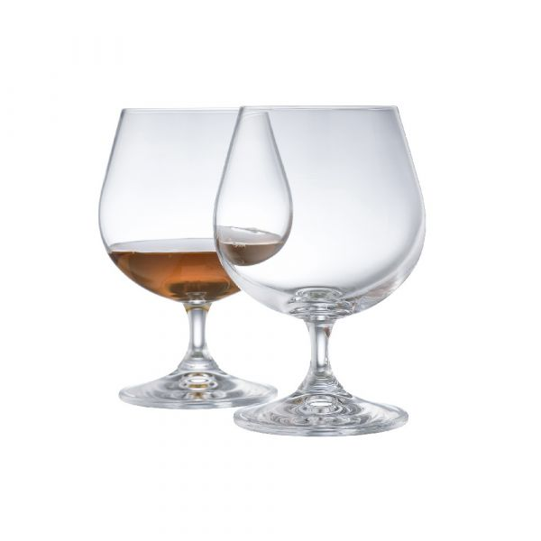 Galway Crystal Boxed Pair Brandy Balloons