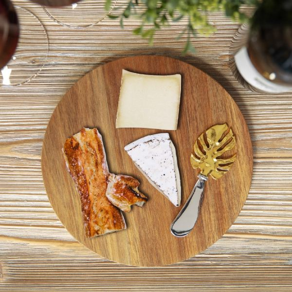 Cheese Board with Spreader Set