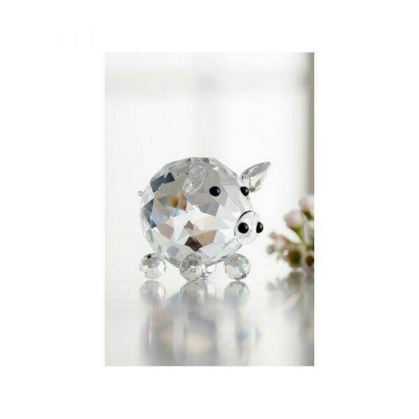 Galway Crystal Piglet