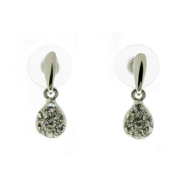 Indulgence Crystal Drop Earrings