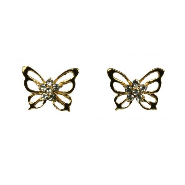 Indulgence Butterfly Earrings
