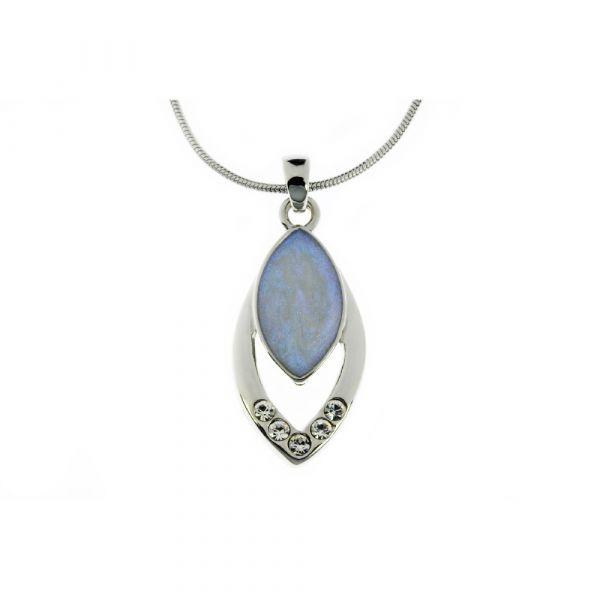 Indulgence Crystal Opal Pendant