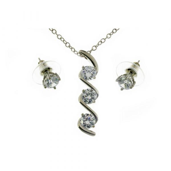 Indulgence Pendant & Earring Set