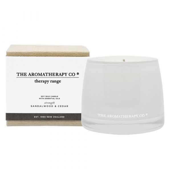 260G STRENGTH THERAPY CANDLE SANDALWOOD & CEDAR