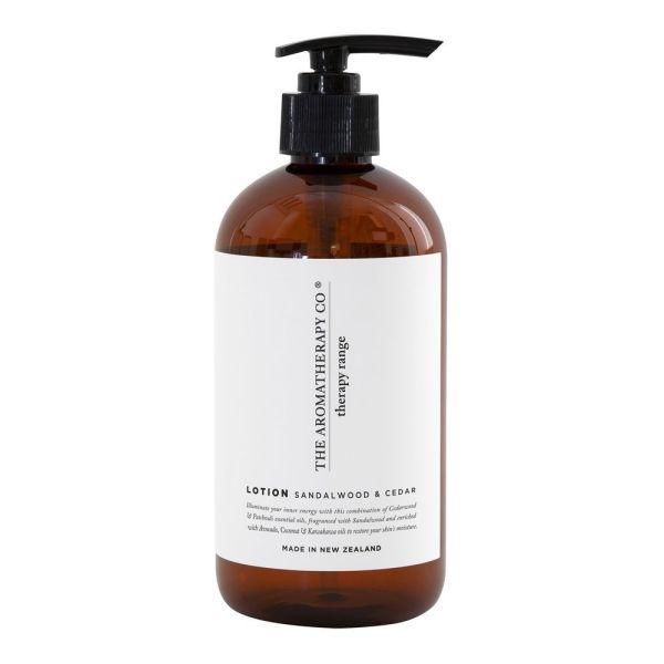 THERAPY 500ML LOTION - STRENGTH - SANDALWOOD & CEDAR