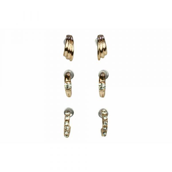 Indulgence Set of 3 Hoop Earrings