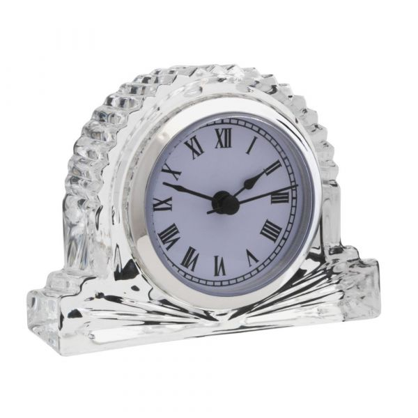 Killarney Crystal - Trinity Collection Mantle Clock