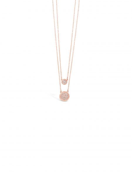 Absolute Jewellery Gold Double Necklace