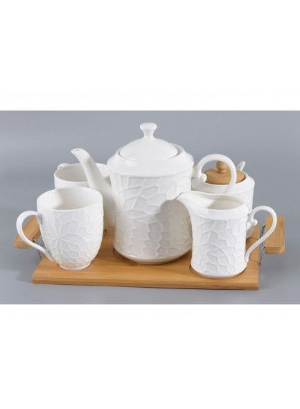 Grange Tea Set & Tray 5pce