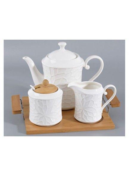 Grange Tea Set & Tray 3pce
