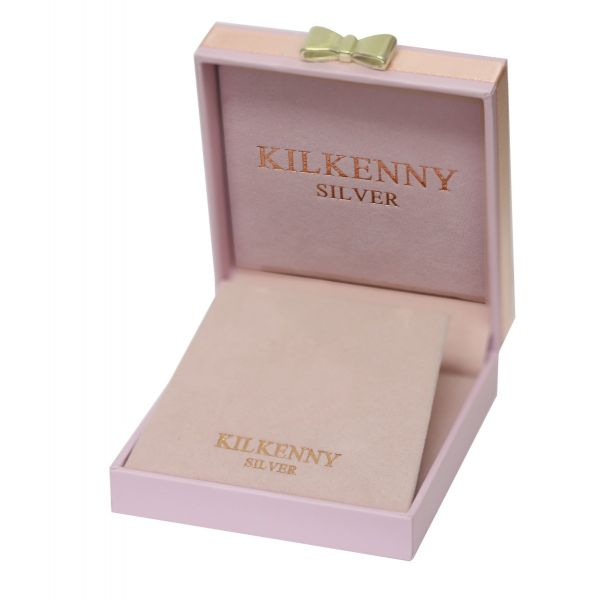 Kilkenny Silver Love Silver Charm Pendant & Bangle Set
