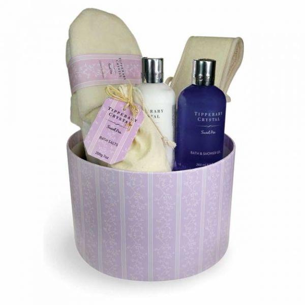 Luxury Bath & Shower Set - Hat Box