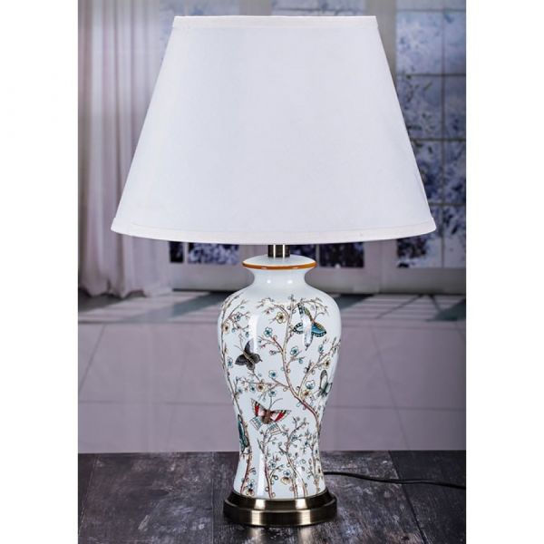 Elegance Butterfly Table Lamp & Shade 60cm